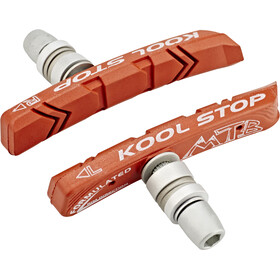 Kool Stop MTB Rim Brake Pads red